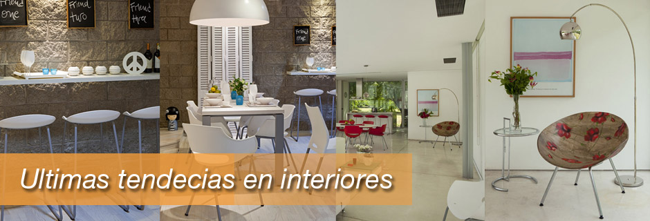 Ultimas tendecias en interiores